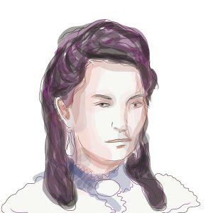 Draga Dejanović, crtež prema arhivskoj fotografiji