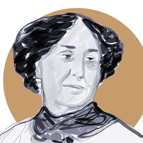 Eustahija Arsić, crtež prema fotografiji