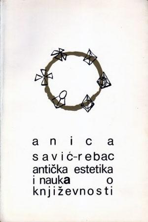 Korica knjige Anice Savić Rebac antička estika i nauka o književnosti